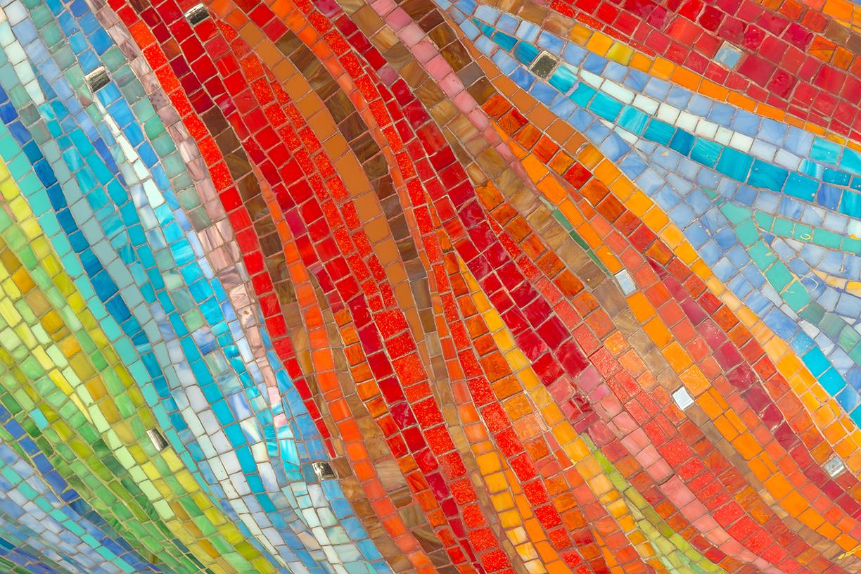 Mosaic wave pattern
