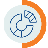 Donut chart icon
