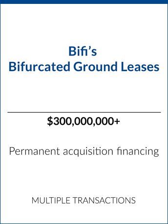 tombstone bifi bifurcated ground leases