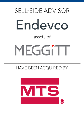 tombstone - sell-side transaction Meggit/Endevco
