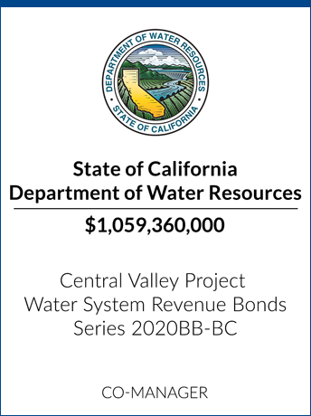 tombstone - transaction State of California Department of Water Resources logo