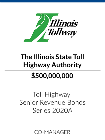 tombstone - transaction Illinois Tollway logo