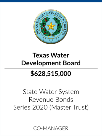 tombstone - transaction Texas Water Development Board logo