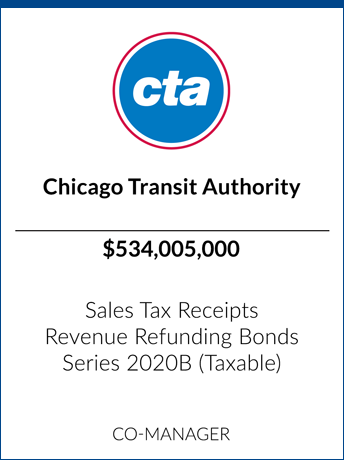 tombstone - transaction Chicago Transit Authority logo