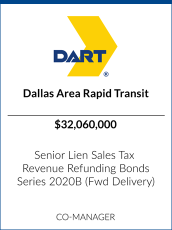 tombstone - transaction Dallas Area Rapid Transit logo