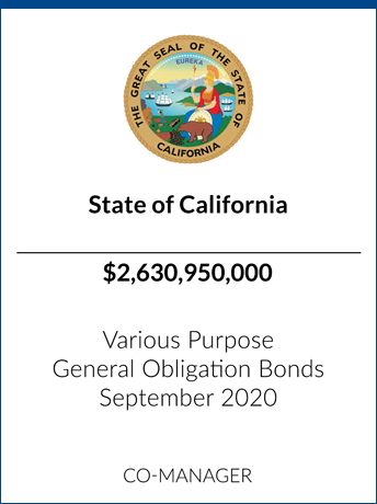 tombstone - transaction State of California logo
